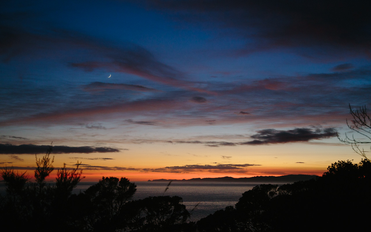 Sunrise over Coromandel